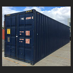 Used 'A' Grade 40' HC Shipping Container