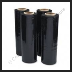 Pallet Stretch Wrap - Black - 25 Micron - 4 Rolls
