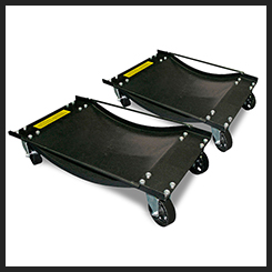 Wheel Dolly Pair - Vehicle Positioning Platform