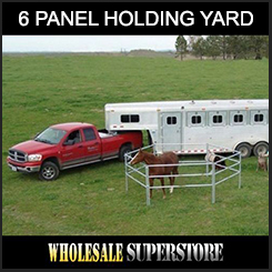 Portable Float / Holding Yard - 6 Panel